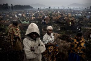 Hutu refugees in the Democratic Republic of Congo [then called Zaire] after the destruction/ shelling of their camp with mortars by the Rwandan Patriotic Army/Alliance of Democratic Forces for the Liberation. This was in 1996. Nineteen years after, not much doesn't seem to have change except the time.