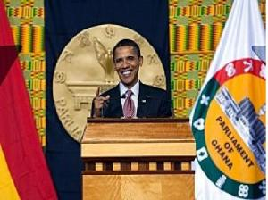 This was in Accra Ghana in 2009 where Obama talked of strong institutions as opposed to strong men for Africa. Very disappointing what he has done so far in that area.