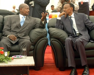 Joweri Museveni and Paul Kagame, masterminders of the human tragedies of the last two decades of the Great Lakes region.