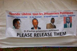Some Rwandan political leaders in prison