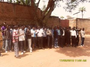 Members of Rwandan opposition political parties FDU-Inkingi and PS-Imberakuri
