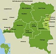North and South Kivu provinces of the Democratic Republic of Congo