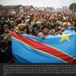 Congolese women protesting in Goma [DRC] against Rwandan support to M23