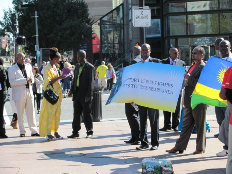 Agaciro Development Fund initiative at the occasion of Rwanda Day in Boston on 22/9/12. The Rwandan president introduced the Fund to the Rwandan diaspora living in North America.