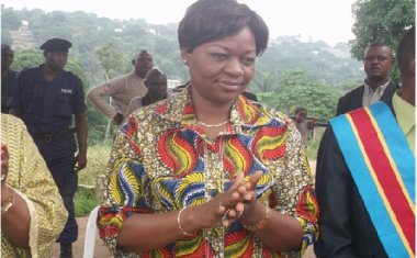 Genevieve Inagosi - Congolese Minister of Gender Family and Children