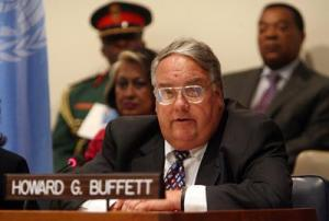 Howard G. Buffett - (Photo - Getty Images)