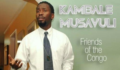 Kambale Musavuli, Spokesperson of the Friends of the Congo