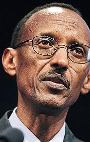 Rwandan president Paul Kagame - Time picture