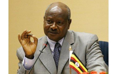 Ugandan President Joweri Museveni