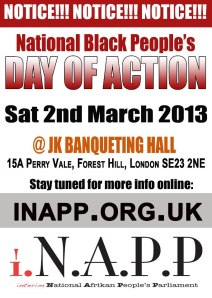 Black People Day of Action in UK