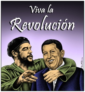 Che Guevara/ Hugo Chavez
