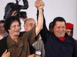 Kaddafi and Chavez - Revolutionaries die, but their revolutionary ideas live on in those who continue the fight.