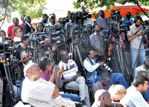 Foreign media covering Kenyan 2013 elections