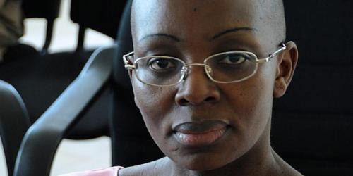 Imprisoned Rwandan politician, Victoire Ingabire, leader of FDU-Inkingi.