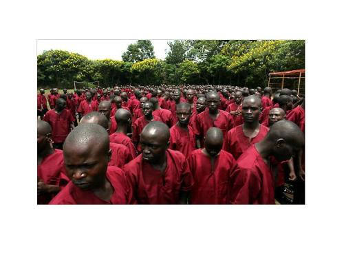 "Hundreds of young adults and minors arrested for petty crimes ranging from being homeless to not having an identification card. By JEFFREY Gettleman - 30/04/10 NYTimes ""Rwanda pursues dissenters and the homeless."