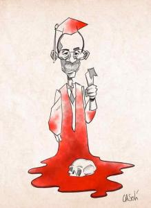 Kagame personality in its particular characteristic of initiating and committing genocides in the Great Lakes region inspires artists. This is one of the results of his inspiration. At least once he won't be around, his life will have served many purposes.