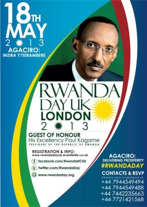 Rwanda Day UK May 18th
