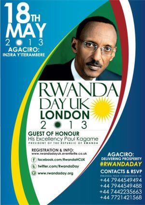 Rwanda Day UK May 18th
