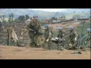 Australian UN peacekeepers witnessed the slaughter of more than 4,000 internally displaced refugees by the Rwandan Patriotic Front in Kibeho - Rwanda. This was on April 22nd, 1995.