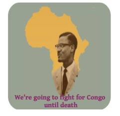 53 years after, the struggle continues. We are going to fight for the heart of Africa until death.