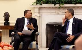 Kikwete and Obama