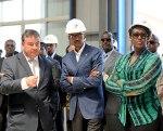 The Rwandan president inaugurating EAGI