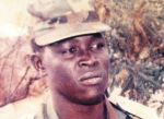 Senegalese Captain Mbaye Diagne who died in Rwanda saving lives in 1994.