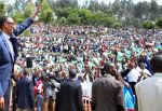 Rwandan president at Nyabihu where he declared that his forces is going to be killing in daylight country's enemies.