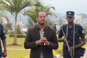 Young Rwandan Tutsi singer imprisoned for showing empathy towards Hutu victims of the Rwandan regime of president Paul Kagame